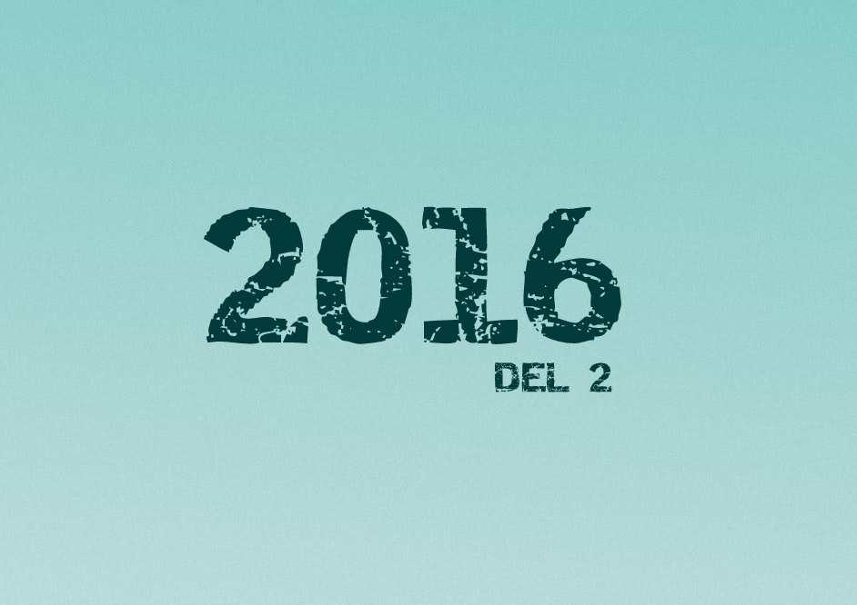 Året var 2016 Quiz – Del 2
