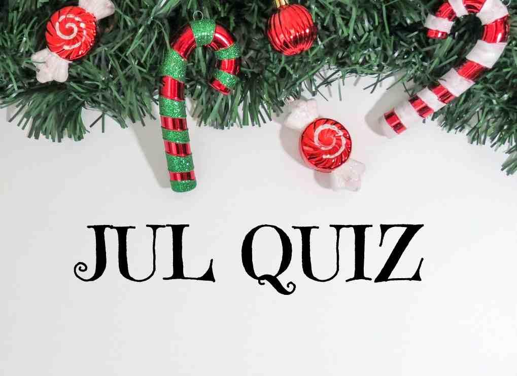 Jul Quiz