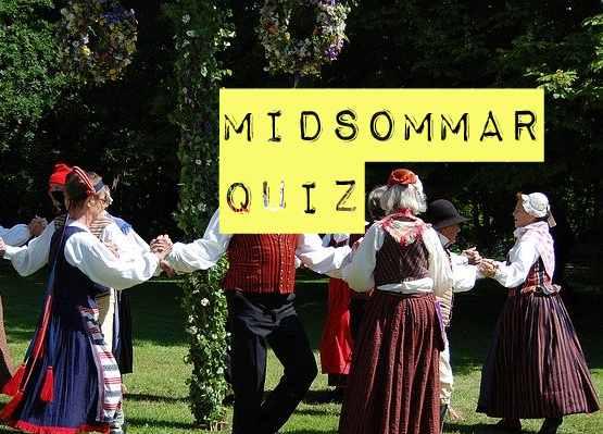 Gratis midsommar quiz från Quiza.nu.