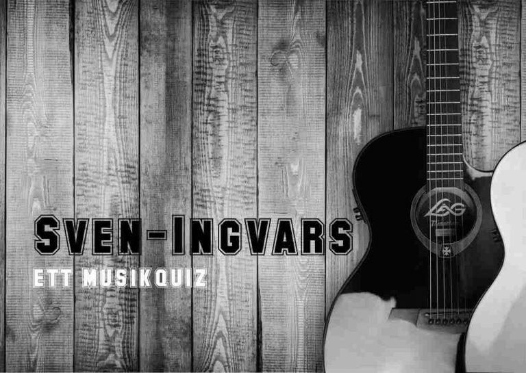 Sven-Ingvars - ett musikquiz från Quiza.nu.